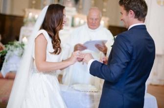 Ceremony in a Catholic church