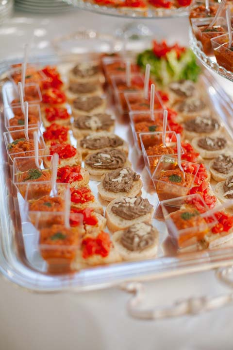 Appetizers for Wedding Cocktail