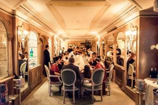 Wedding reception in Rome at Mirabelle Restaurant