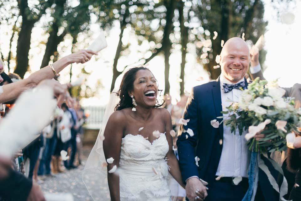 Wedding in a Tuscan Villa