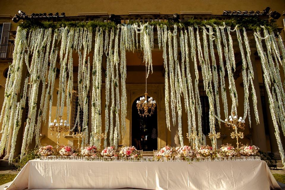 Floral Decorations at Villa di Maiano