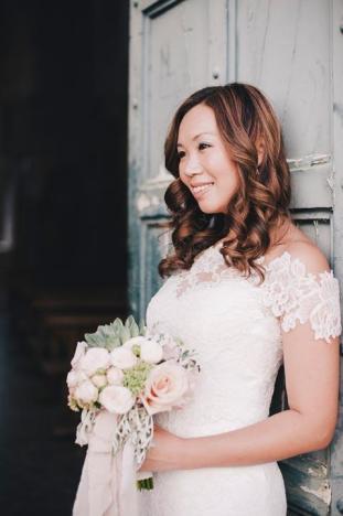 Ravello wedding: portrait of the bride