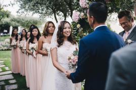 Wedding in Italy with symbolic ceremony