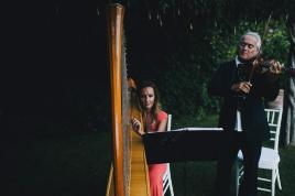 Classical music for outdoor wedding in Ravello