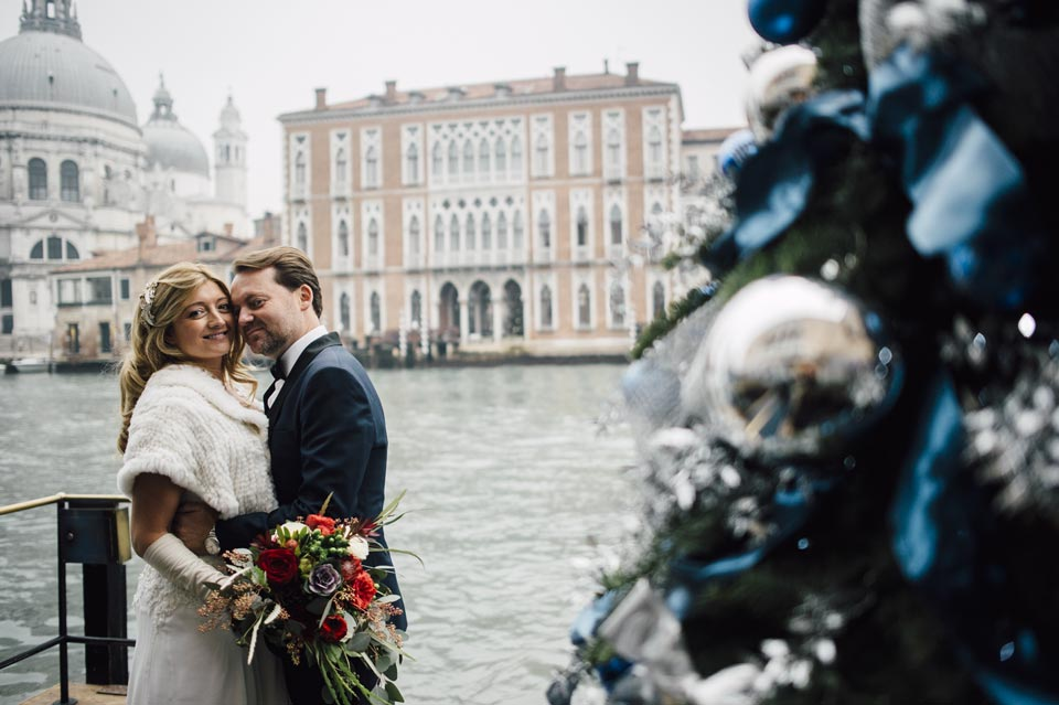 Wedding in Venice of Rebecca and Stephen