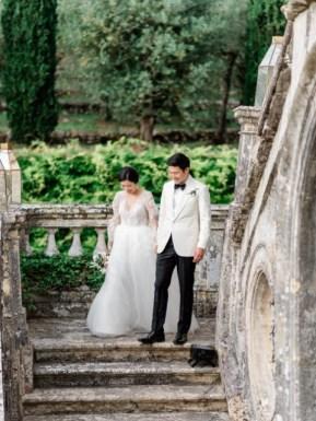 Destination wedding in a Tuscan Villa