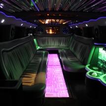 Hummer H2 limuzin belső világítás