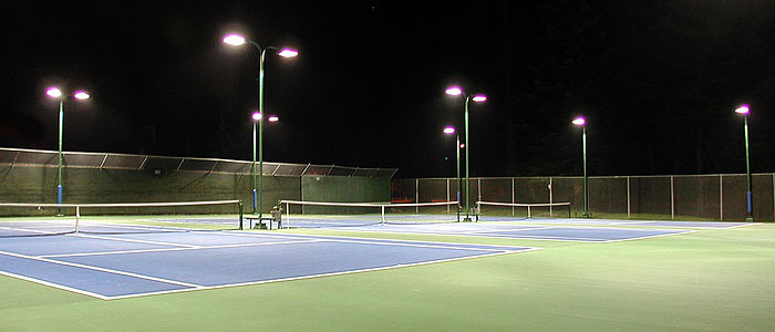 Commercial Lighting Incl Tennis Court Parking Lot And