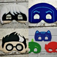 PJ Super Hero Felt Mask Super Set - Exclusively Yours ...