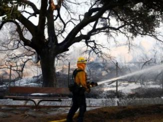 fire outbreak in california rad full report and video