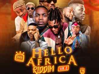 Monthly mixtape by dj jazzy t - hello Africa Riddim mp3
