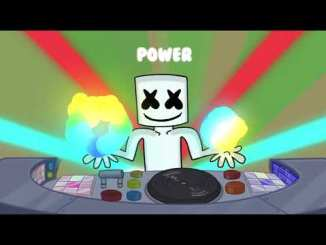 Marshmello power music video