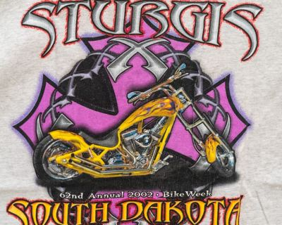 T-SHIRT – ALL SPORTS – STURGIS – Size M