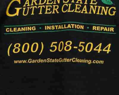 LS T-SHIRT – GILDAN – GARDEN STATE GUTTER CLEANING STAFF PRINT – Size L