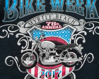 T-SHIRT – GILDAN – BIKE WEEK 2017 – Size M