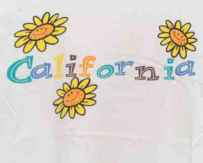T-SHIRT – DELTA PRO – CALIFORNIA FLOWER – Size S