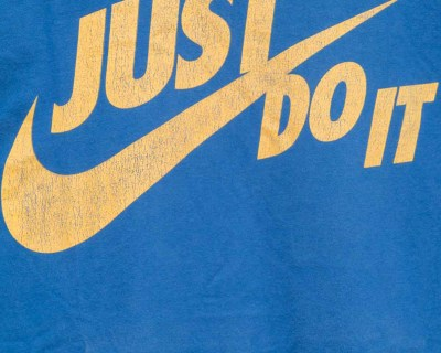 T-SHIRT – NIKE – JUST DO IT – Size L