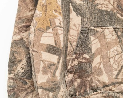 PULLOVER – PENNANT – HOODY CAMO LEAF – Size XL
