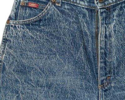 PANTS – LEE – USA ACID WASHED TAPERED – Size M