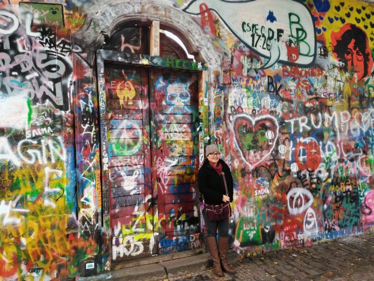 john lennon wall prague czech republic