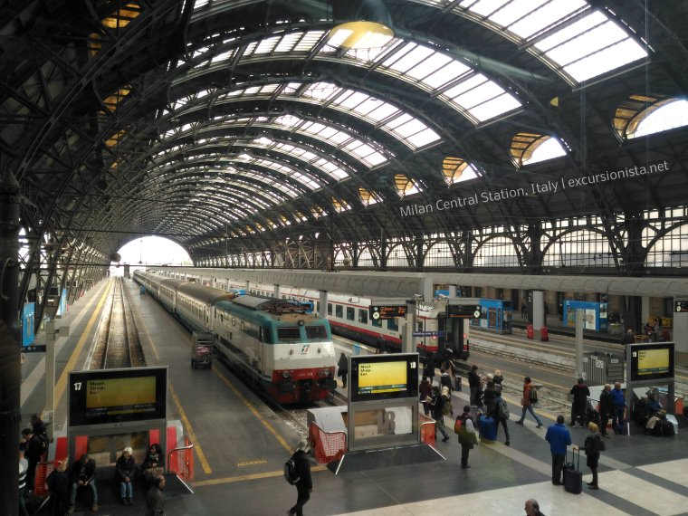 milan central station italy
