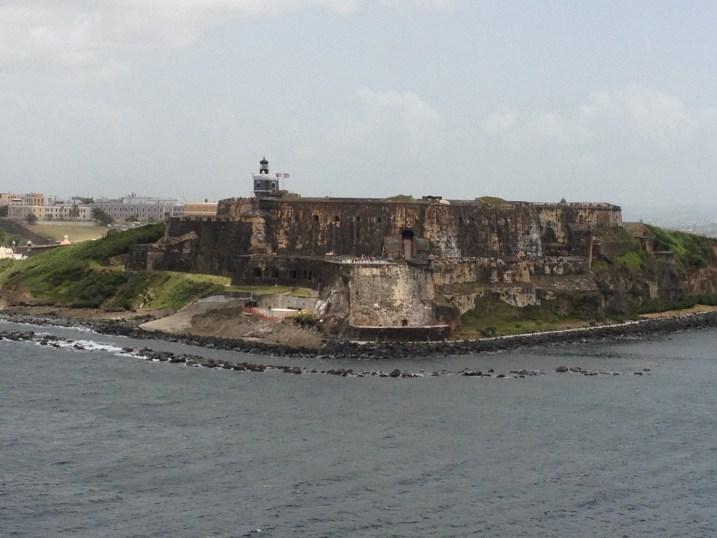 El Morro Fort in Old San Juan Guards the Harbor