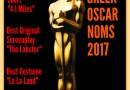 Greeks with Oscar Nominations 2017