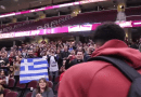 [Video] Cleveland Greeks Serenade Giannis Antetokounmpo with the Greek National Anthem