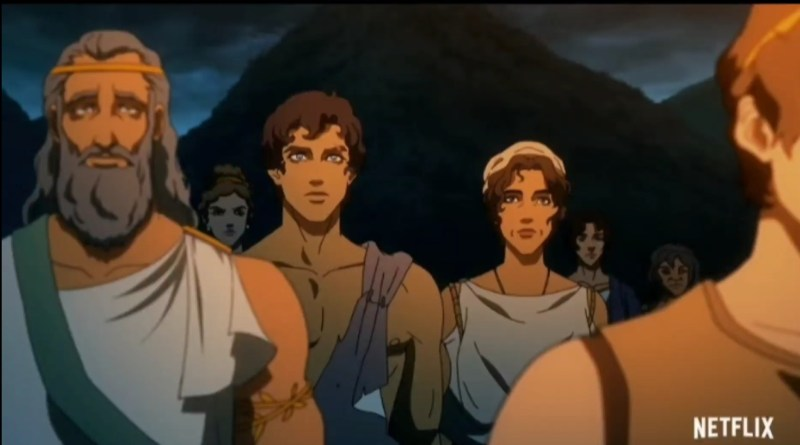 Netflix creates anime series based on Greek Mythology (trailer)