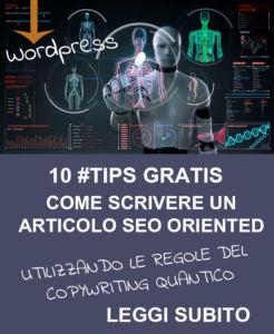 scrivere articolo wordpress copywriting quantico