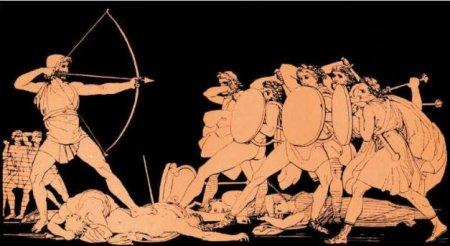 Odysseus, suitors