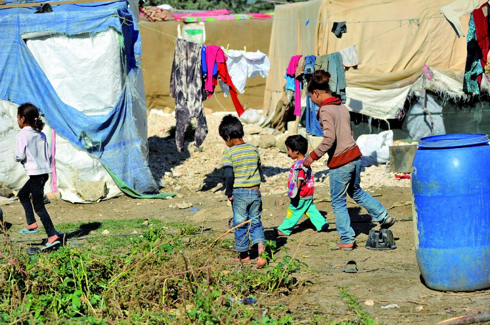 Children make up half the Syrian refugee population in Lebanon