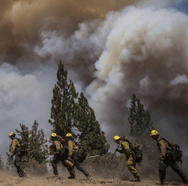 DHS Army Develop Wildland Firefighter Garment System to Address Heat Exhaustion Risk