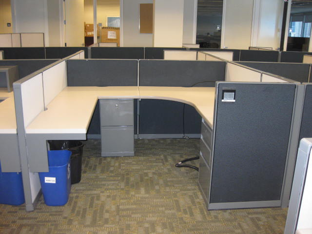 herman miller executive chair handicap mobile chairs steelcase conventional 9000 cubicles   liquidation – quality used office furniture