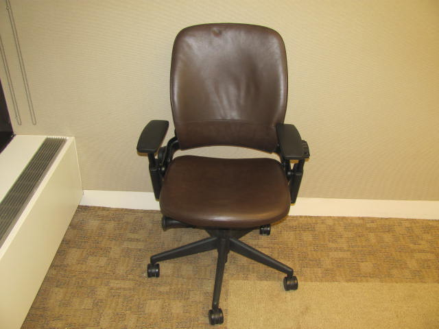 allsteel task chair hanging top view steelcase leap   executive liquidation – quality used office furniture