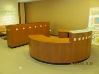 Reception Desk-Round | Executive Liquidation  Quality ...