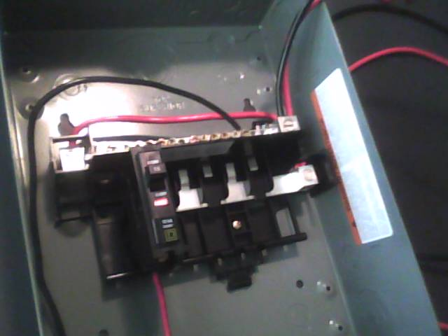 Using A Square D QO Load Center For Combiner Box Pics And Video