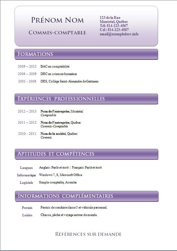 modele cv odt to pdf