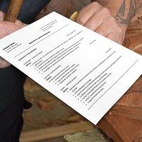 Exemple de CV pour Ébéniste