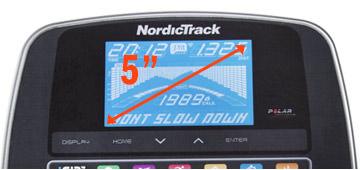Nordictrack 4.2 bike console