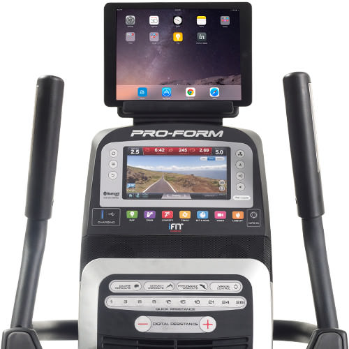 proform 14.0 upright bike console