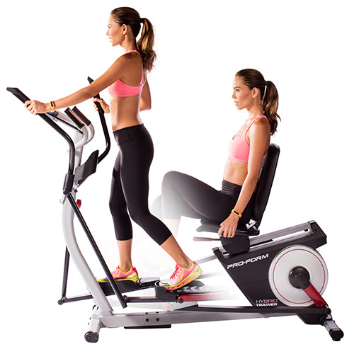 proform hybrid trainer pro elliptical bike
