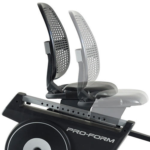 proform hybrid trainer elliptical bike seat