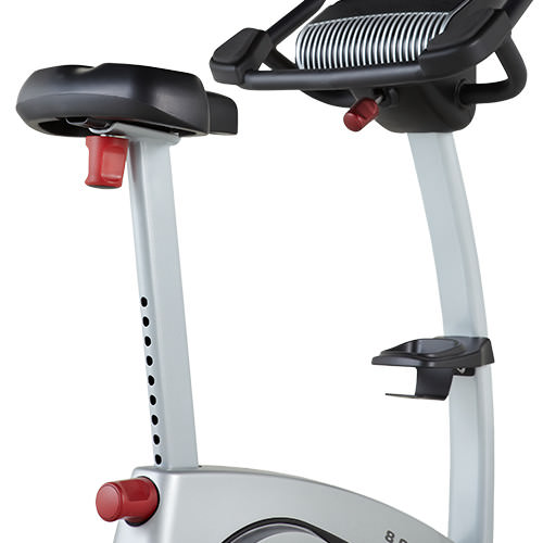 proform 8.0 upright exercise bike review - seat adjust