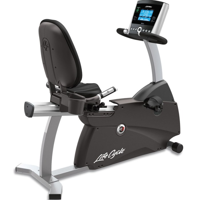 lifecycle r1 vs r3 recumbent bike