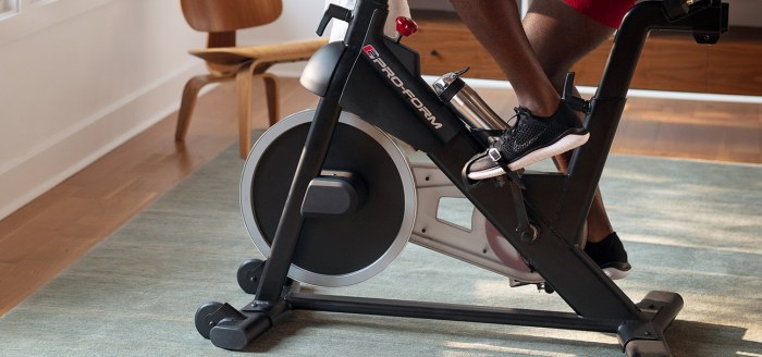 proform cycle trainer bike review
