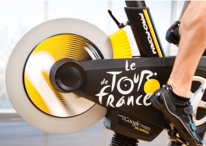 tour de france exercise bike review