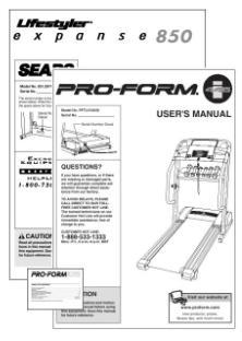 A Treadmill Owners Manual is like having a treadmill