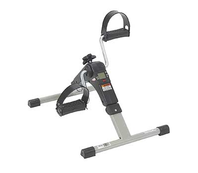 Drive Medical Deluxe Folding Exercise Peddler with Electronic Display