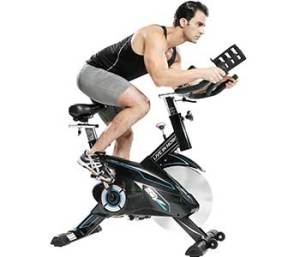 L NOW CycleFire LD-582 Indoor Stationary Cycling Bike Solid and Fashionable Design